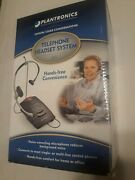 New Open Box Plantronics S11 Business Wired Hands-free Telephone Headset System