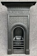 Restored Thomas Jeckyll Victorian Cast Iron Fireplace Fire Arts And Crafts
