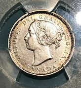 Rare 1886 Ten Cents With Large Pointed 6 Graded By Pcgs Au-50 Census Top 10