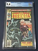 The Eternals 1 Cgc 9.4- Origin And 1st Appearance The Eternals