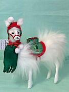 New Annalee 9andrdquo Very Merry Llama Plush 2020 Christmas Sold Out