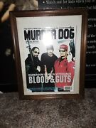 Murder Dog Magazine Darkroom Familia Cover Framed Since Came Out Mint Buy It X4