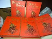 British Battles On Land And Sea 1st Edition - Cassell And Co 1897 - 8 Volume Set