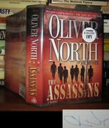 North, Oliver And Joe Musser The Assassins Signed 1st 1st Edition 1st Printing