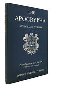 The Books Called Apocrypha According To The Authorized Version 1st Edition Thus
