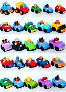 Fisher Price Little People Wheelies - Lot Of 25 Cars