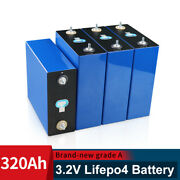 3.2v 320ah 4/8 Pcs Rechargeable Lifepo4 Battery Pack With Busbars