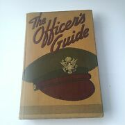 Usa The Officers Guide 1943 9th Edition Military Service Publishing Company