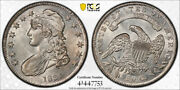 1834 50c Capped Bust Half Dollar Pcgs Au 58+ Plus Grade Small Date Small Let...