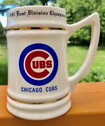 Authentic Vintage Chicago Cubs 1984 National League East Champions Stein Mug Nos