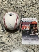 Julio Rodriguez Signed Autographed 2021 Futures Game Ball Jsa Coa Mariners