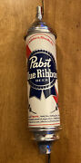 8/27 Rare Pabst Blue Ribbon Beer 10 Inch Tap Handle - Nice