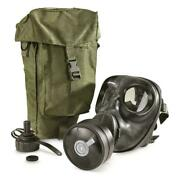 Italian Military Surplus M90 Gas Mask With Bag And Filter New