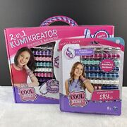 Cool Maker 2-in-1 Kumikreator Bracelet And Necklace Creator Kit With Refill Pack