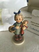 What Now Girl Figurine Goebel 7 Collectors Club 422 Doll 1983 Heart Puppet Box