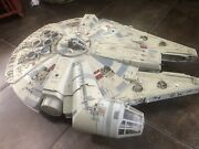 Star Wars Millenium Falcon Legacy Collection 2008 Great No Box/action Figures