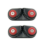 2 Pieces Aluminum Ball Bearing Boat Cam Cleat Kayak Anchor Cam Cleat 15mm