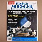 Fine Scale Modeler March 1990 Showcase An Old-fashioned Corsair In 1/16 Scale