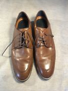 Cole Haan Grand Os Men's Brown Leather Size 10 Highest Quality Shoes Expensive