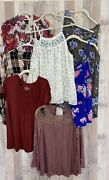Torrid Size 0 Lot Of 7 Top Some Nwt Beautiful