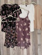 Torrid Size 1 Lot Of 4 Tops And 1 Nighty