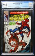 Dragonmiser Amazing Spiderman 361 Cgc 9.8 1st Carnage White Pages