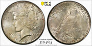 1928 1 Peace Dollar Pcgs Ms 64 Uncirculated Key Date Cac Approved