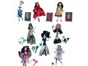 Monster High 8 Ghouls Rule And Scary Tale Abbey Clawdeen Cleo Draculaura Frankie