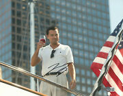 Leonardo Dicaprio Signed Autograph The Wolf Of Wall Street 11x14 Photo Beckett