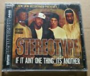 Stereo Type - If It Aint One Thing...its Another Rare Cd California Gangsta Rap