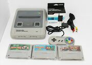 Nintendo Super Famicom Console System Donkey Kong Country 1 2 3 Us Seller