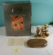 Mj Hummel Club Exclusive Edition Figurine, Scooter Time 1697, In Box/coa, 2001