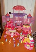 Huge Lot Of My Little Pony Collectors Items Castle Play Sets And Ponies