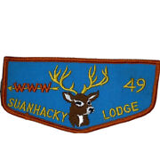 Bsa Boy Scout Patch Vintage 1970s Order Of The Arrow Suanhacky Lodge Pocket