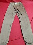 Us Army Military Brown Heavy Wt. Polypro Long Underwear Bottom Pants Small