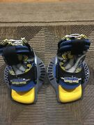 Blue Youth Extra Large, Hyperlite 30/60 Wakeboard Boots, Great Condition