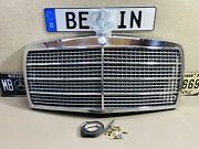 Mercedes Benz W116 Front Rataitor Grill And Emblem A1168800383 Genuine Nos