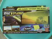 Bell + Howell Tacvisor Day And Night Car Visor As Seen On Tv 2-in-1 Anti-glare New