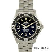 Breitling A17391 Super Ocean Exterior Finished Menand039s Watch From Japan
