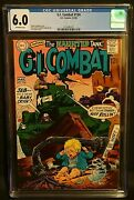 G.i. Combat 134 Cgc 6.0 Ow Pages Haunted Tank Silver Age 1969 Dc Comics