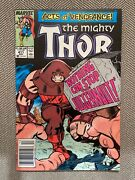 Thor 411 1989 1st Appearance Of New Warriors In Vf. Newsstand Edition.