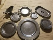 18 Vintage Wilton Columbia Pa Queen Ann Dinner Plates Bread Plates Set Of