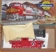 Athearn 5376 Wide Vision Caboose Kit Great Northern Gn X105 Red