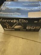 Kenmore Elite 21814 Pet Friendly Crossover Canister Vacuum Cleaner Silver/gray