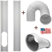 Window Adapter Tube Connector +5.90 Exhaust Hose For Portable Air Conditioner