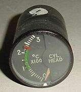 Ms28004-1 147b32a Aircraft Cylinder Head Temperature Indicator / Cht