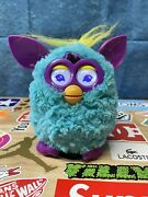 2012 Furby Blue Teal Purple Ears Boom Interactive Electronic Toy Tested