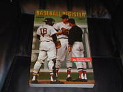 1968 Tsn The Sporting News Baseball Register Guide Red Sox Cover 400 Pages
