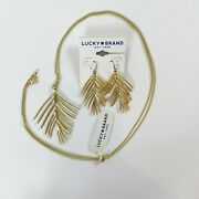 Lucky Brand Feather