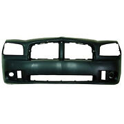 Ch1000464 New Replacement Front Bumper Cover Fits 2006-2010 Dodge Charger